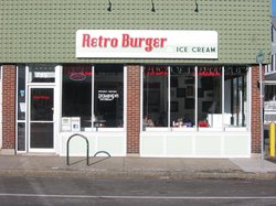 Retro Burger & Ice Cream