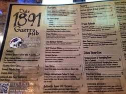 Dale 1891 Gastro Pub