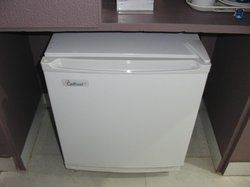 Small fridge in the room