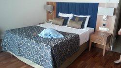 Die neuen Betten im Zimmer