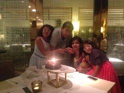 Birthday celebration at Three Sixty