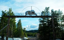 Summit Mt Lodge entrance gate