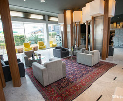 Lobby at the Aparthotel Atenea