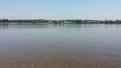 The Recreation Area of Leisure Oasis Olbersdorfer Lake