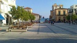 Piazza duca degli abruzzi a Marina di Ragusa