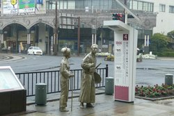 The Monument of a Honeymoon Trip of Ryoma Sakamoto