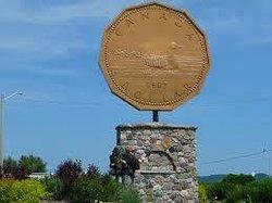 Loon Dollar Monument