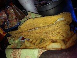 Whole Catfish& Fries