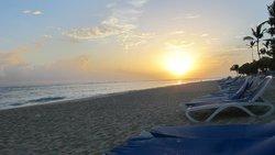 Beach at sunrise (Memories area)