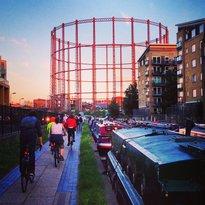 伦敦北部的运河