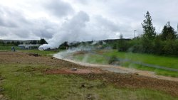Geothermal Park,Klambragil,new hot spring area