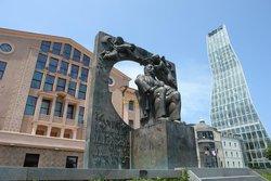 Monument Of Ilia Chavchavadze