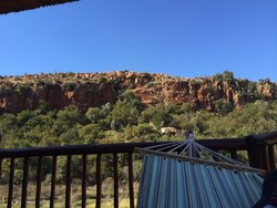 View from the room. Komati gorge lodge