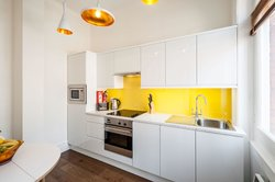 Plenty of space to cook in our Superior Studio kitchens