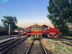Railway Museum in Railway Depot Bratislava-Vychod
