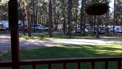 View from front porch of Rio Grande