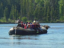 Rafting Snake River