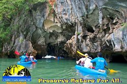Explore the ancient caves & lagoon