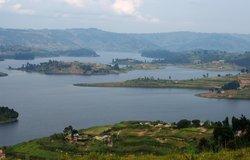 Look at this view of Lake Bunyonyi