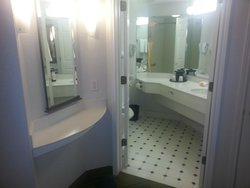 "Bathroom and ""vanity"" area"