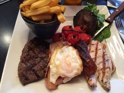 Fabulous mixed grill!