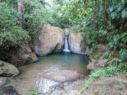 Cascada Pavon - Waterfall in Costa Rica