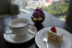Sip on a cappucinno while enjoying the views