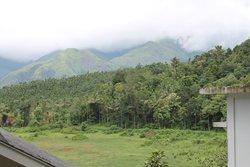 view from romantic villa