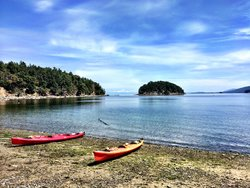 Kayaking Gulf Islands
