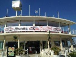 America Graffiti Diner Restaurant Rimini