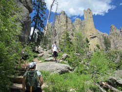 Cathedral Spires Hiking Trail
