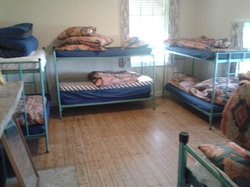 one of dormitory rooms