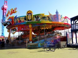 ‪Steel Pier Amusement Park‬