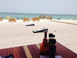 Beachfront lunch at Surf Hut