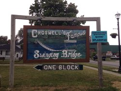 Croswell Swinging Bridge