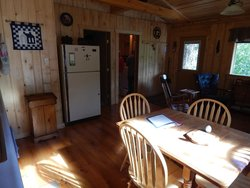 Kitchen area cabin #3
