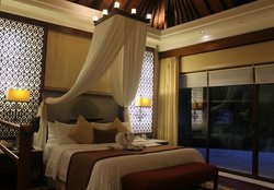 The very comfortable bedroom
