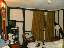 The small but comfortable double room