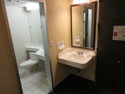 Deux espaces lavabos