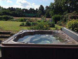 The jacuzzi that was always welcome for us to use .