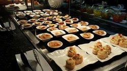 Appetizer buffet at El Olivo