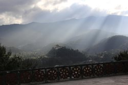 View from Karchu Monastery