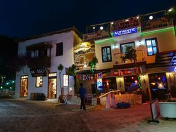 View from street of Authentic, Kalkan, Turkey - June 2014