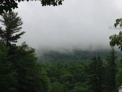 A misty July 4th morning.