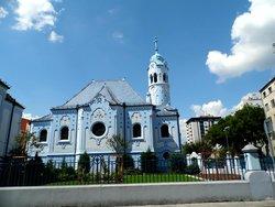 Modrý kostol