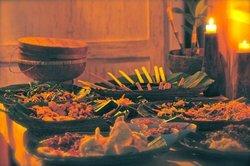 Sunday night buffet, a delightful Balinese feast!