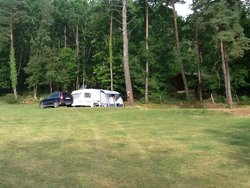 Camping on the big field