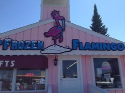 Frozen Flamingo The