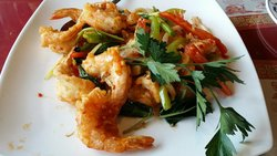 Spicy Shrimp ! Sooo Amazing!