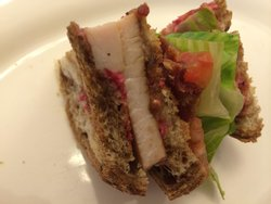 Possibly the best Clubhouse sandwich I ever tasted in my life!!!!!
